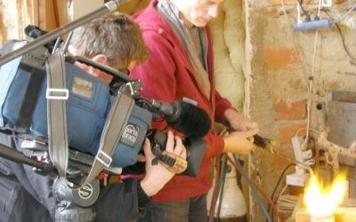 Documentaire de FR3 à l'atelier 2008