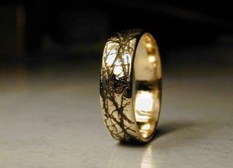 Différentes finitions alliances mariages